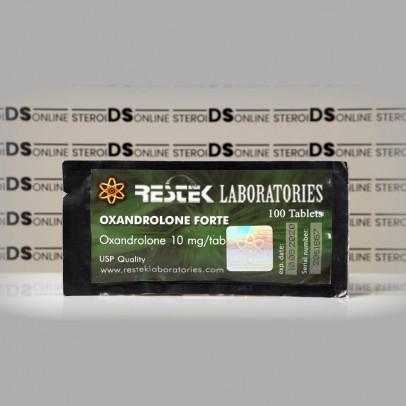 Oxandrolone Forte 10 mg Restek Laboratories | SOU-0199